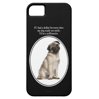 パグのiPhone 5の場合 iPhone SE/5/5s ケース