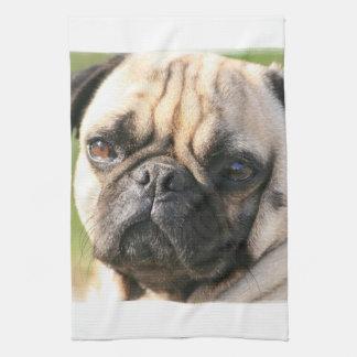 パグ犬の品種台所タオル キッチンタオル