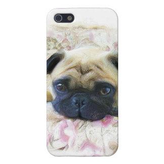パグ犬 iPhone 5 ケース