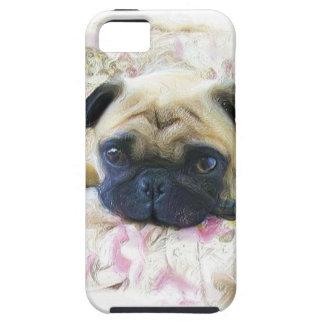パグ犬 iPhone SE/5/5s ケース