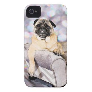 パグ-ウイリー Case-Mate iPhone 4 ケース