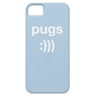 パグ:))) iPhoneの場合 iPhone SE/5/5s ケース