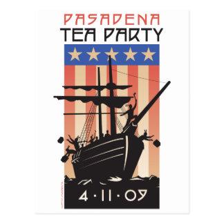 パサデナのお茶会 ポストカード