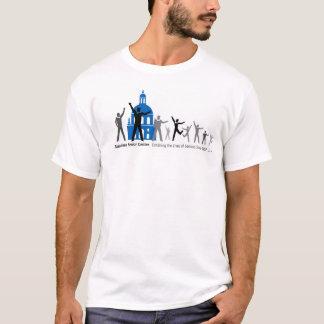パサデナの高齢者センターのTシャツの前部だけ Tシャツ