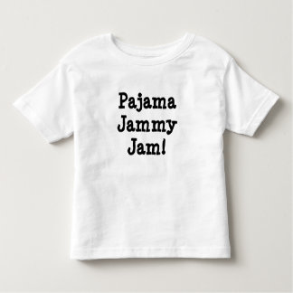 パジャマのJammy込み合い! トドラーTシャツ