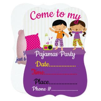 パジャマ・パーティー カード