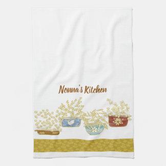 パスタボールが付いているNonnaの台所カスタマイズ可能なタオル キッチンタオル