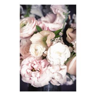 パステルの春の花束 便箋