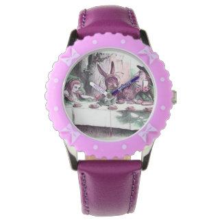 パステルの腕時計の気違いのお茶会 腕時計
