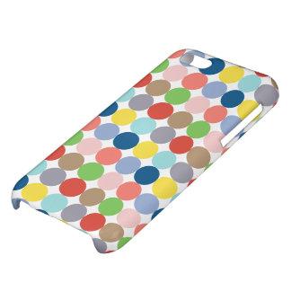 パステルの色のカラフルな円 iPhone5C