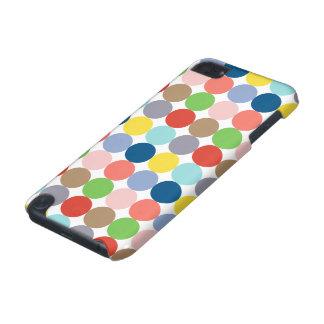 パステルの色の多彩な円 iPod TOUCH 5G ケース