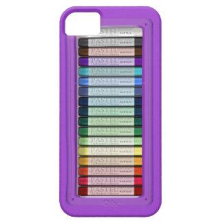 パステルの薄紫箱 iPhone SE/5/5s ケース