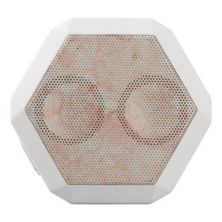 パステルカラーの抽象的な大理石の質 ホワイトBluetoothスピーカー
