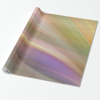 パステルカラーの抽象芸術 ラッピングペーパー