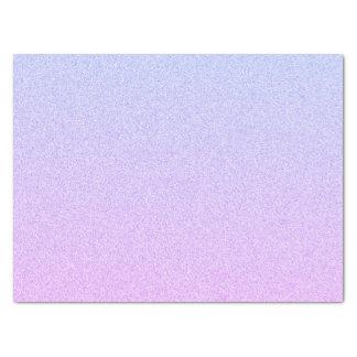 パステル調のグラデーションなグリッター 薄葉紙