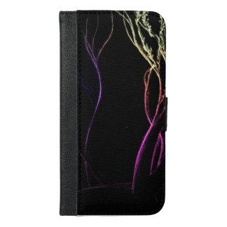 パステル調のシルエット-銀河系S6のウォレットケースの iPhone 6/6S PLUS ウォレットケース