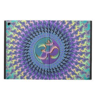 パステル調のフラクタルの陰陽の虹OMのiPadの空気箱 iPad Airケース