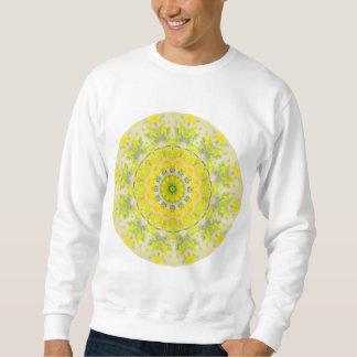 パステル調のボヘミアの目まぐるしく幾何学的な曼荼羅 スウェットシャツ