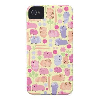 パステル調のモルモットの野菜パッチ Case-Mate iPhone 4 ケース