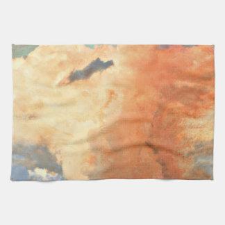 パステル調の台所タオルの雨雲 キッチンタオル