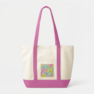 パステル調の回転のバッグ-スタイル及び色を選んで下さい トートバッグ