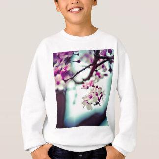 パステル調の桜の写真 スウェットシャツ