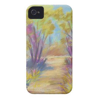 パステル調の森のiphone 4やっとそこにQPC Case-Mate iPhone 4 ケース
