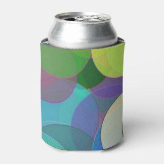 パステル調の泡 缶クーラー