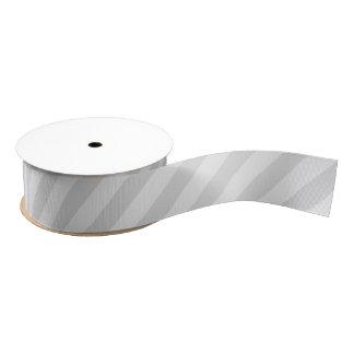 パステル調の灰色のストライプのなグログランリボン グログランリボン