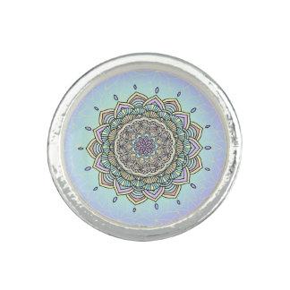 パステル調の白熱曼荼羅ID359 指輪