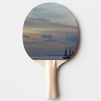 パステル調の空 卓球ラケット