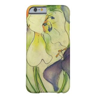 パステル調の花柄の電話箱 BARELY THERE iPhone 6 ケース
