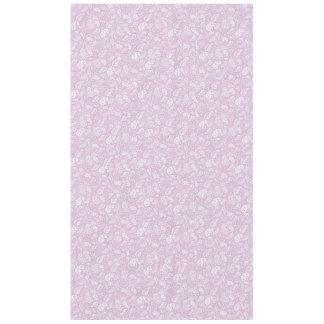 パステル調の薄紫の春Paisely テーブルクロス