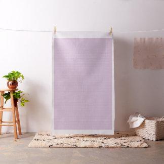パステル調の薄紫の白いピースサイン ファブリック