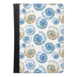 パステル調の貝殻パターン2 iPad AIRケース