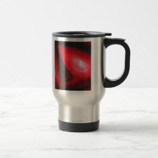 パステル調の赤い彗星(天文表現主義) トラベルマグ