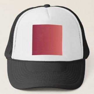 パステル調の赤い縦の勾配へのバーガンディ キャップ
