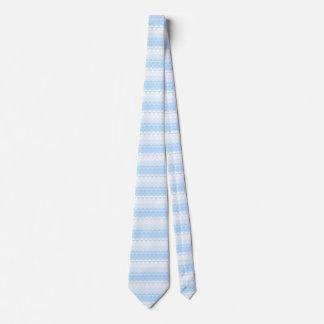 パステル調の青いパターン オリジナルタイ