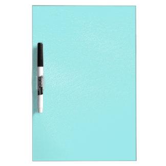 パステル調の青いレザールック ホワイトボード