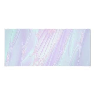 パステル調パターンフラクタル-海の貝様式 カード