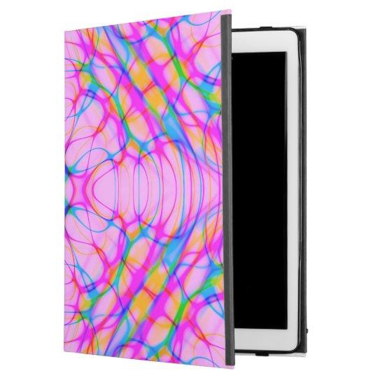 """パステル調ピンクの万華鏡のように千変万化するパターンパターン抽象芸術 iPad PRO 12.9"""" ケース"""
