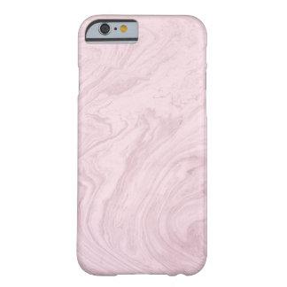 パステル調ピンクの大理石の電話箱 BARELY THERE iPhone 6 ケース