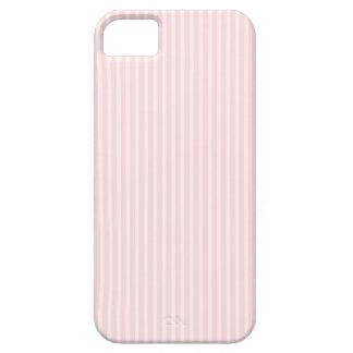 パステル調ピンクの縞 iPhone SE/5/5s ケース