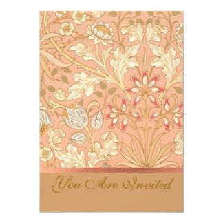 パステル調ピンクの花 カード