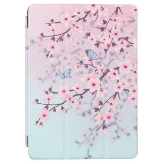 パステル調桜の蝶 iPad AIR カバー