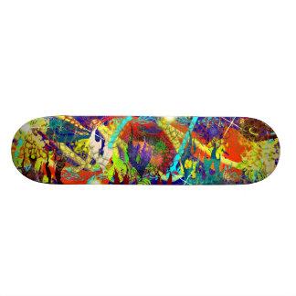 パステル調礁 スケートボード