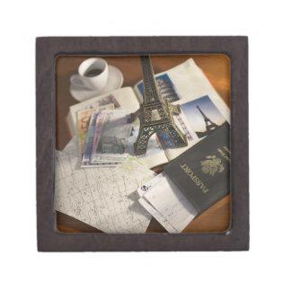 パスポートおよび記念品 ギフトボックス