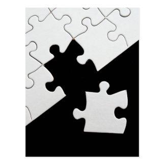 パズルの部分 ポストカード