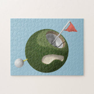 パズル|の小型ゴルフ世界 ジグソーパズル