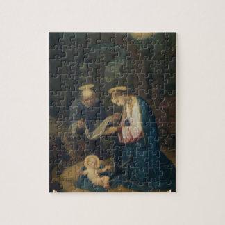 パズル: キリストの誕生 ジグソーパズル